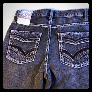 Route 66 Boys size 12 straight leg jeans NWT